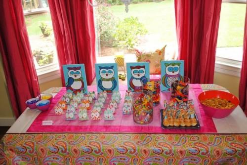 Owl party, E-Mealz