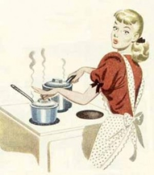 woman cooking, E-Mealz, stove top