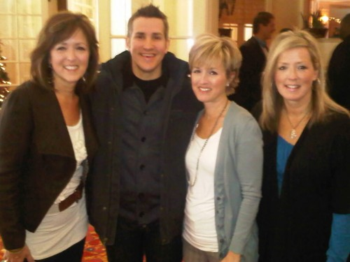 Jon Acuff and E-Mealz sisters, Jenny, Jane and Judith