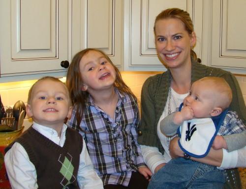 Kimberly Thomas and kids