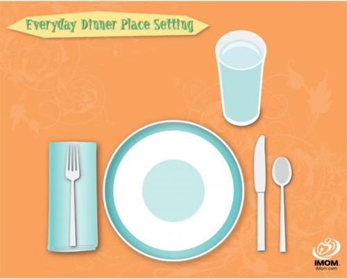 how to set a table properly best 25+ proper table setting ideas  sc 1 st  My Home Decorating Blog & How To Set Table Properly Prepossessing Best 20+ Table Setting ...