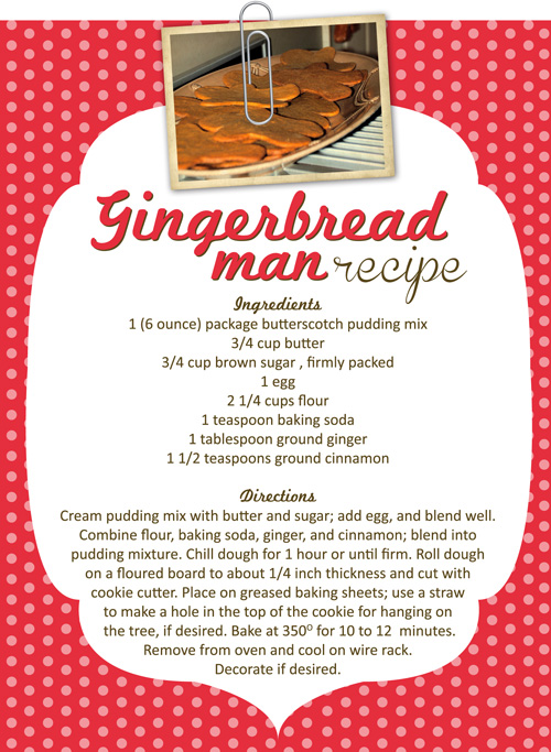Crafty Cookies for Christmas: Gingerbread Men | The eMeals Blog