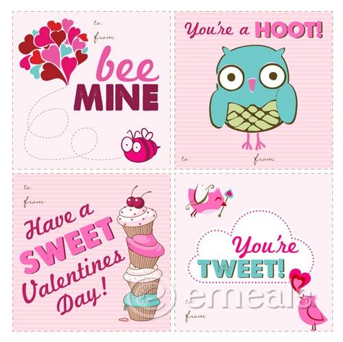 Printable Paper Valentines – Valentines Card Printable Free