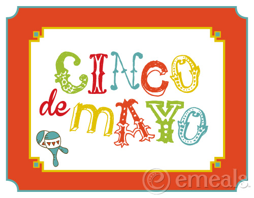 Cinco de Mayo Table Topper from eMeals