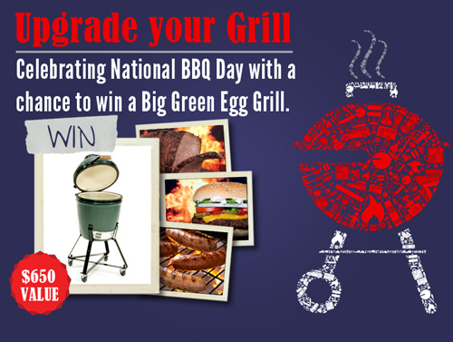 Big Green Egg Giveaway from eMeals