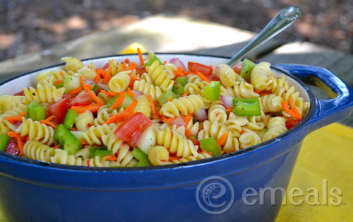 BBQ on a Budget: Easy Veggie Pasta Salad