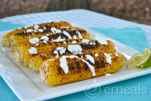 5 Clean Eating Sides for July 4th: Mexican Street Corn