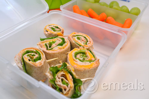 New Lunch Menu from eMeals
