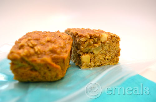 ... to grab and take with you on the go these oatmeal bars are the perfect