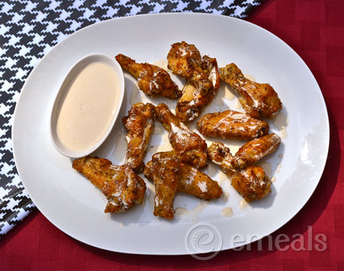 Bama White Barbecue Chicken Wings