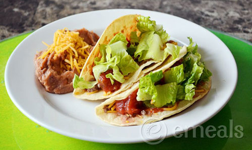 Chalupas from eMeals