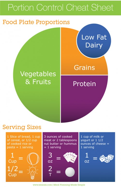 Quick Guide to Control Portion Sizes