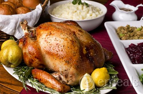 Classic Holiday Roasted Turkey + Holiday Menus