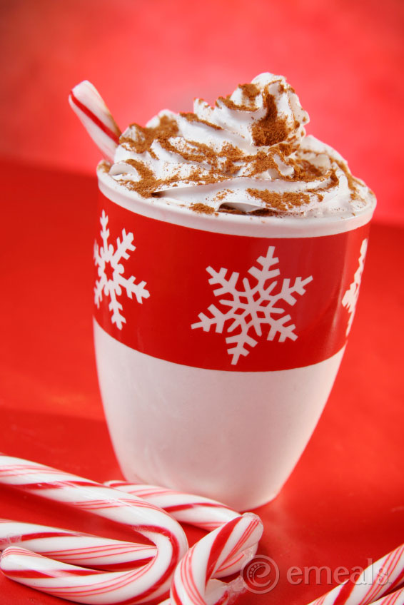 Dark Chocolate Peppermint Latte