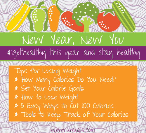 Get Healthy in the New Year Tips