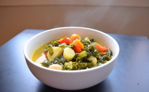 Low Fat Vegan Soup: Tuscan Ribollita