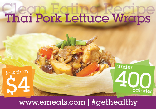 Clean Eating Recipe: Thai Pork Lettuce Wraps