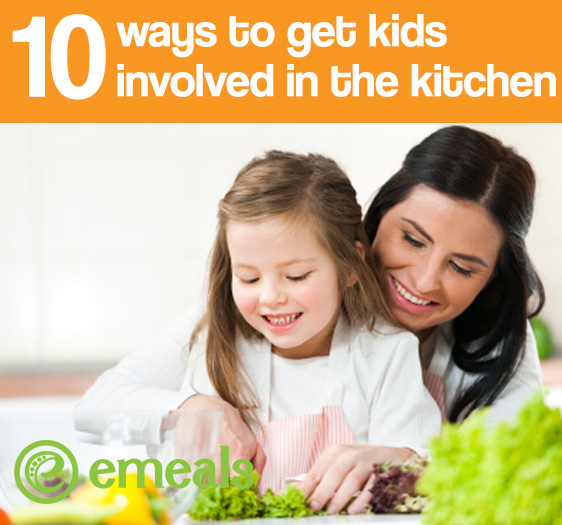 Top 10 Ways to Get Kids Involved in the Kitchen
