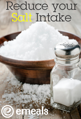 How to reduce your salt intake from eMeals