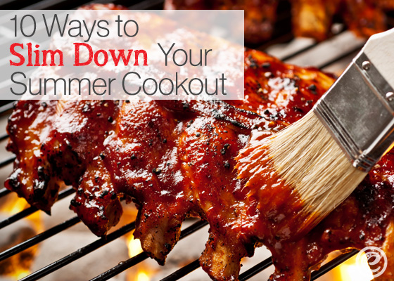 10 Ways to Slim Down Your Summer Cookout from eMeals