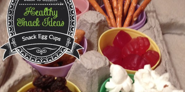 Healthy Snack – Snack Mix Egg Cups