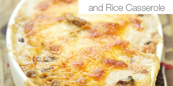 Freezable Casserole Recipe: Green Chile Chicken and Rice Casserole
