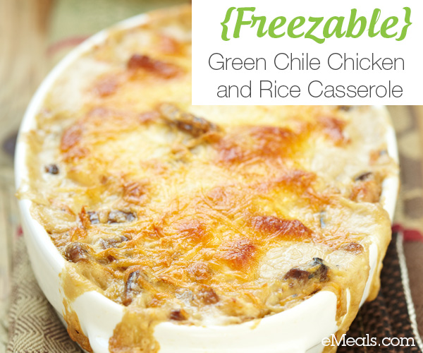 {Freezable} Chicken and Rice Casserole