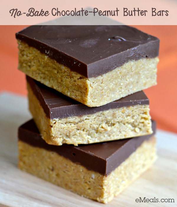 No-Bake Chocolate-Peanut Butter Bars