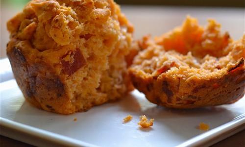 Lunch Box Recipe: Pepperoni Pizza Mini Muffins