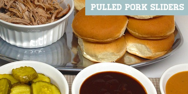 Tailgating Slow-Cooker Pulled Pork Sliders