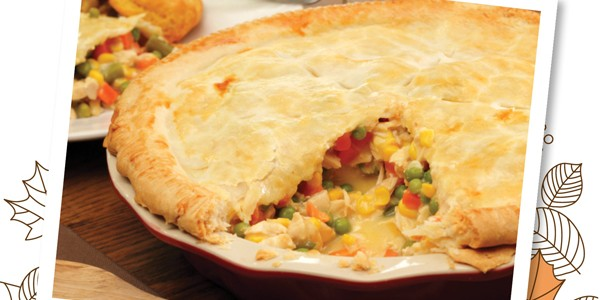Fall Comfort Food: Classic Chicken Pot Pie Recipe