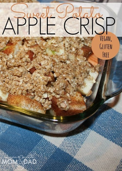 Gluten Free Sweet Potato Apple Crisp