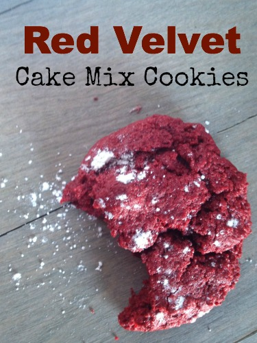 Red Velvet Cake Mix Cookies-eMeals