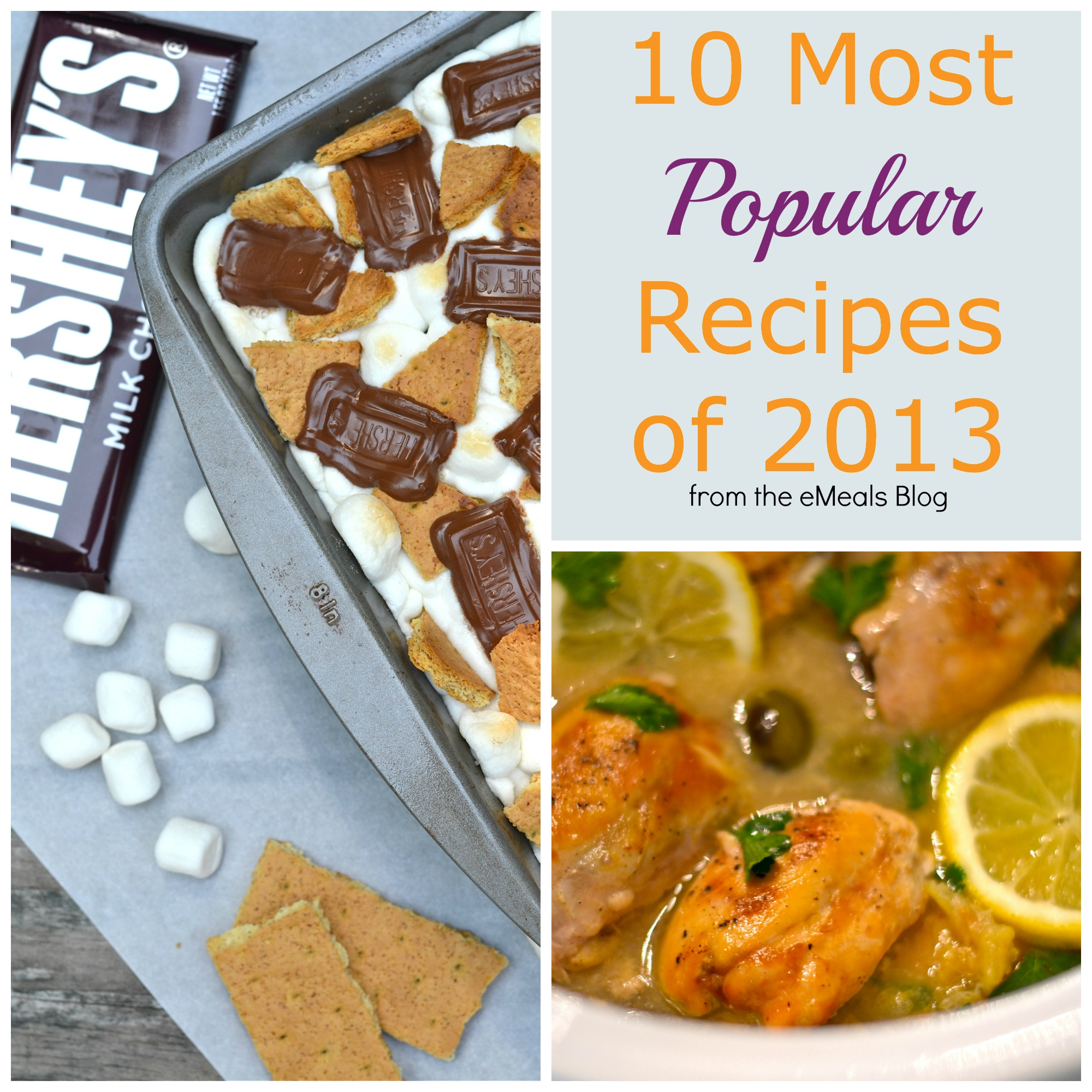 10 Most Popular Recipes in 2013