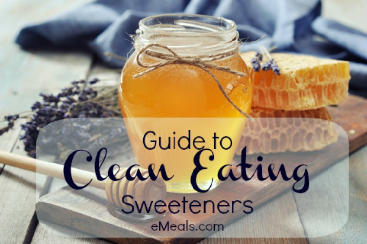Guide to Clean Eating Sweeteners from eMeals