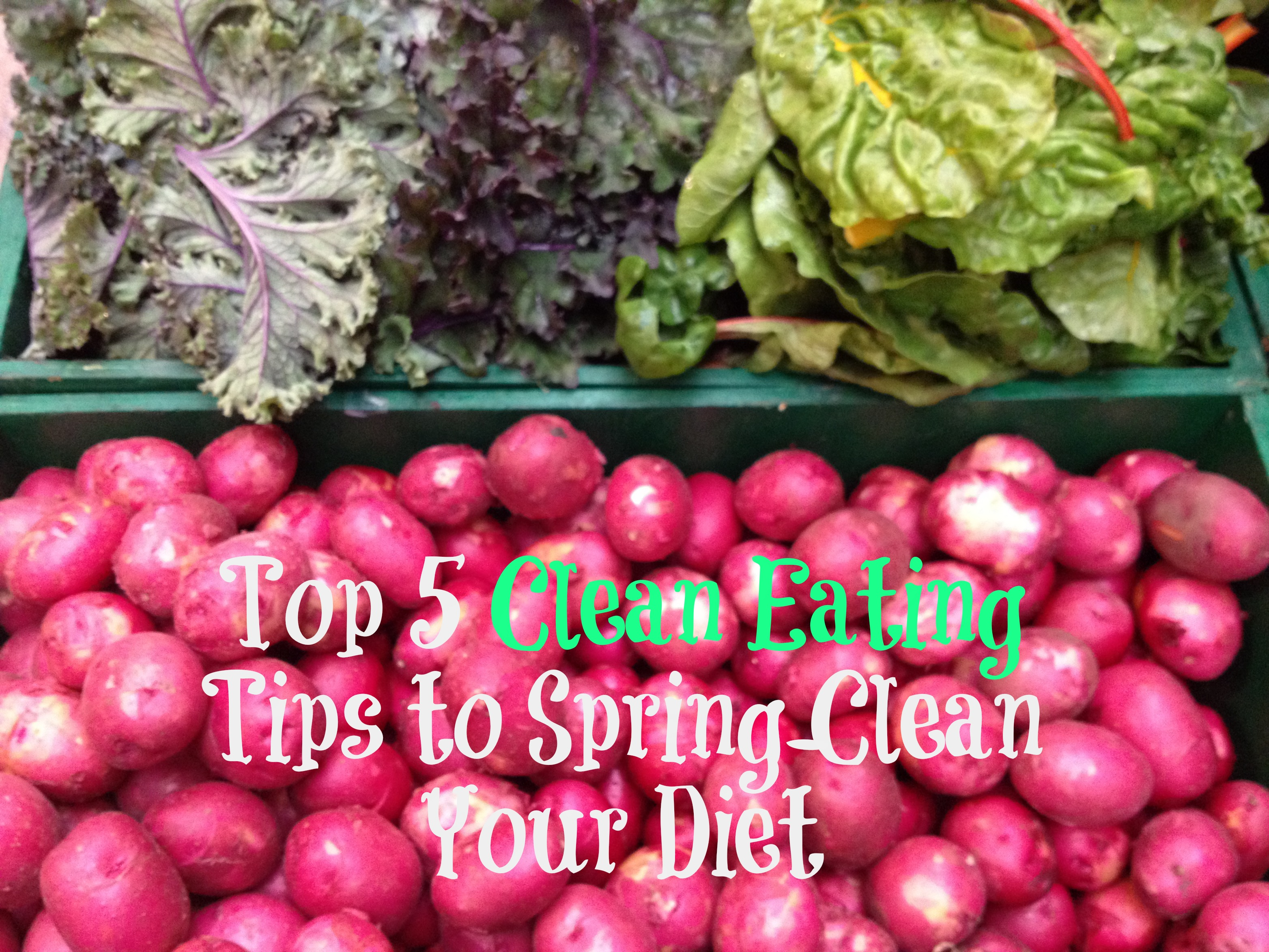 Tips for Cleaning up your diet via eMeals