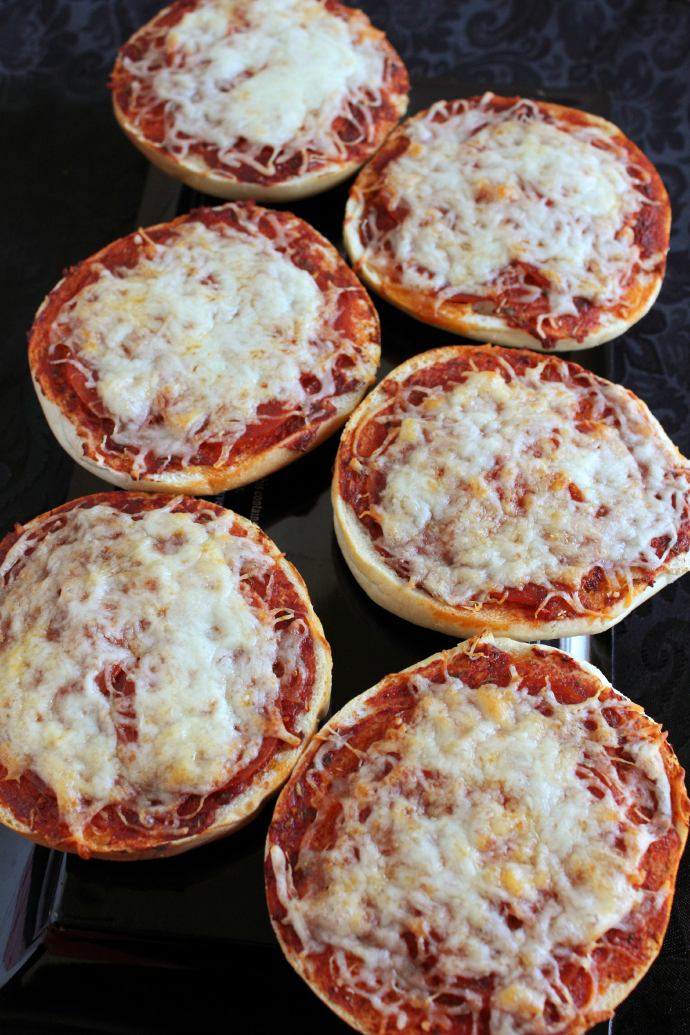 pizza bagels from eMeals
