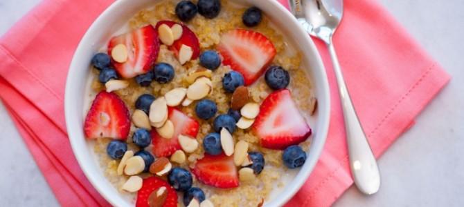 Clean Eating Breakfast Quinoa