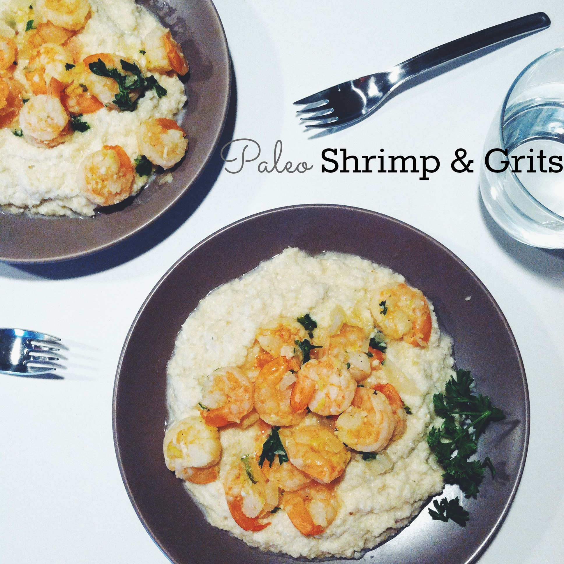 Paleo Shrimp And Grits