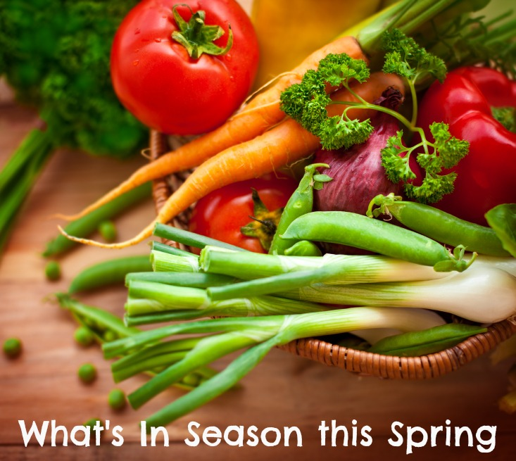 eMeals tells you what produce is in season to enjoy this spring!