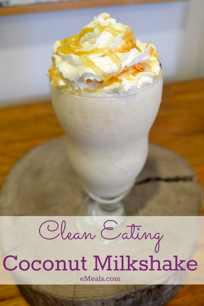 Clean Eating Coconut Milkshake