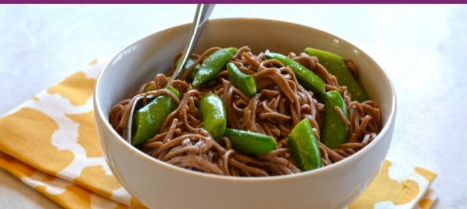 Gluten Free Spicy Peanut Soba Noodles