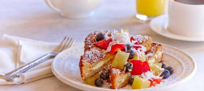 Mother's Day Stuffed French Toast