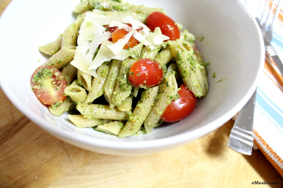 eMeals Penne with Tomatoes and Parmesan