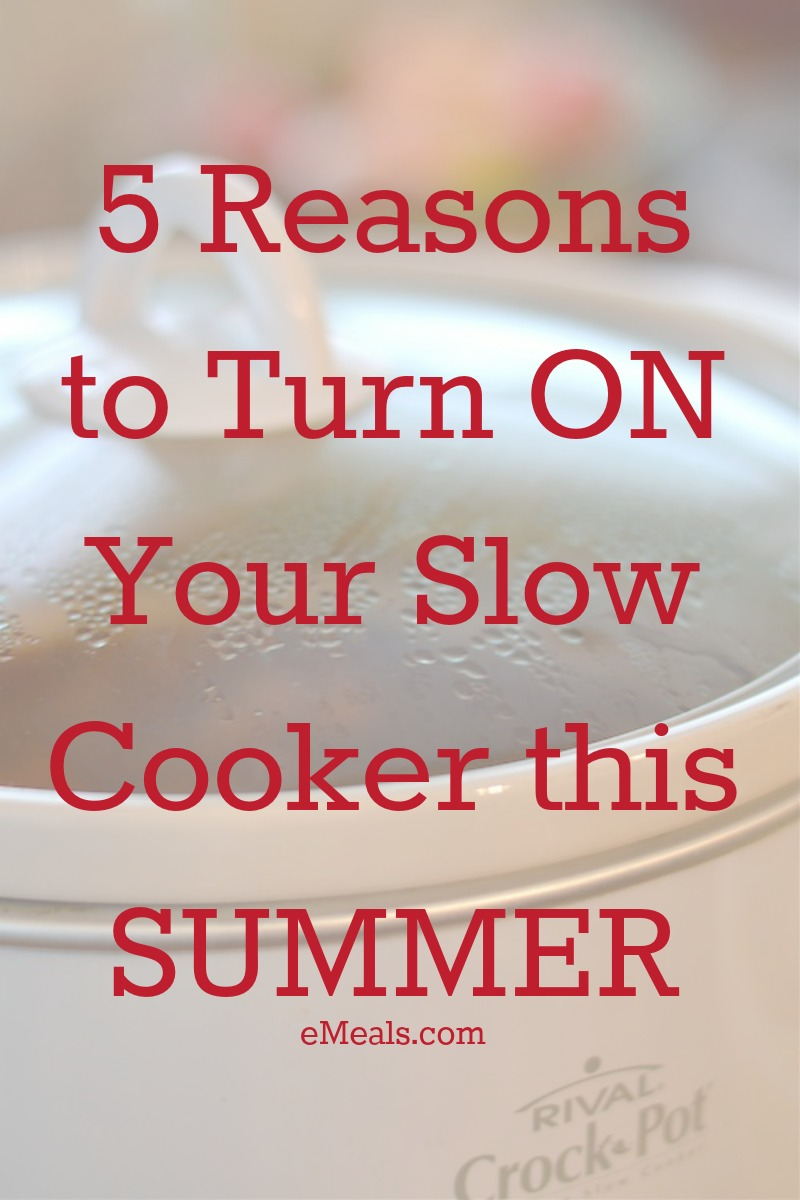 This is why you should use your slow cooker this summer!
