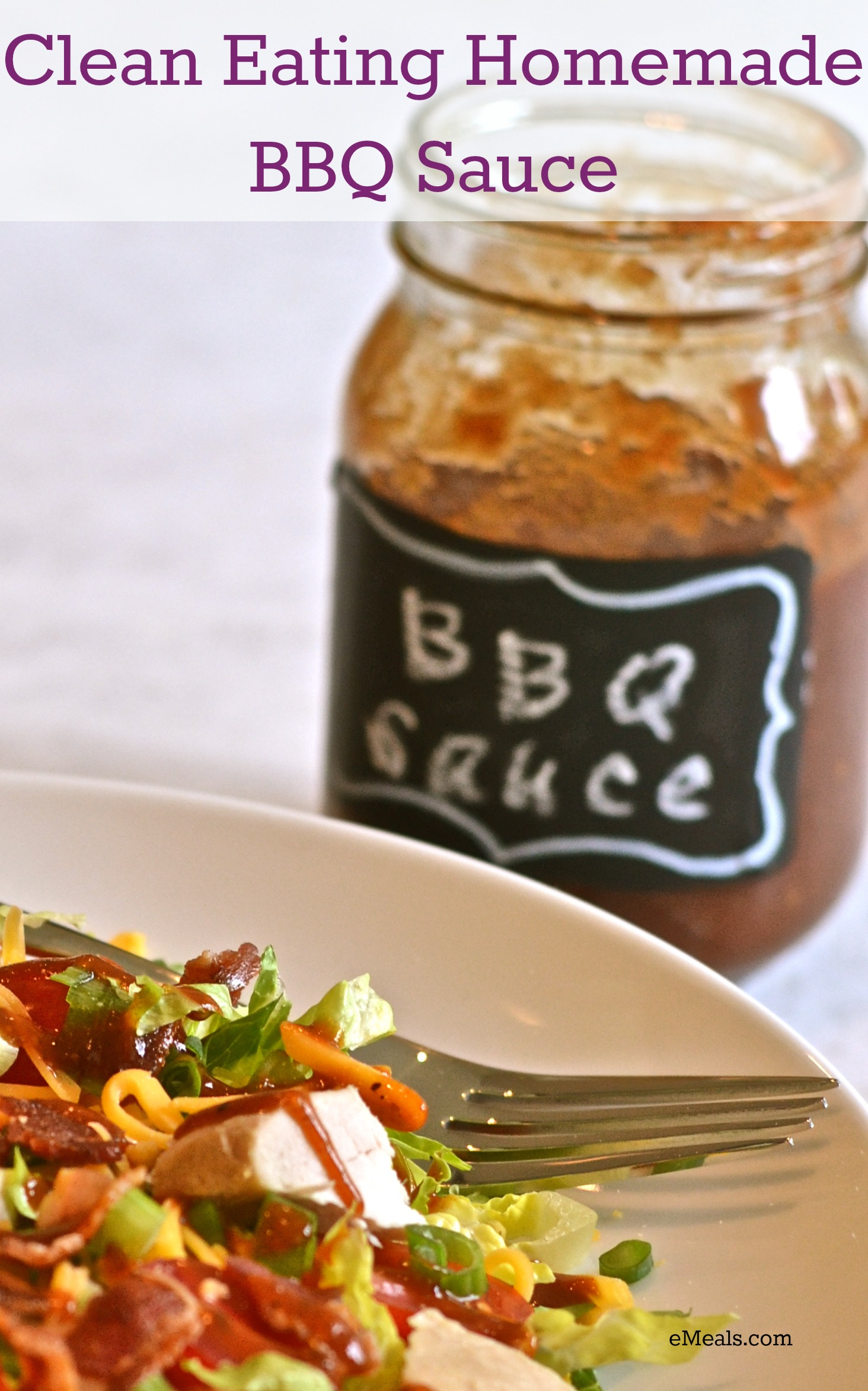 Clean Eating Homemade Barbecue Sauce