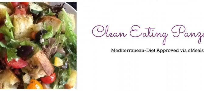Clean Eating Panzanella