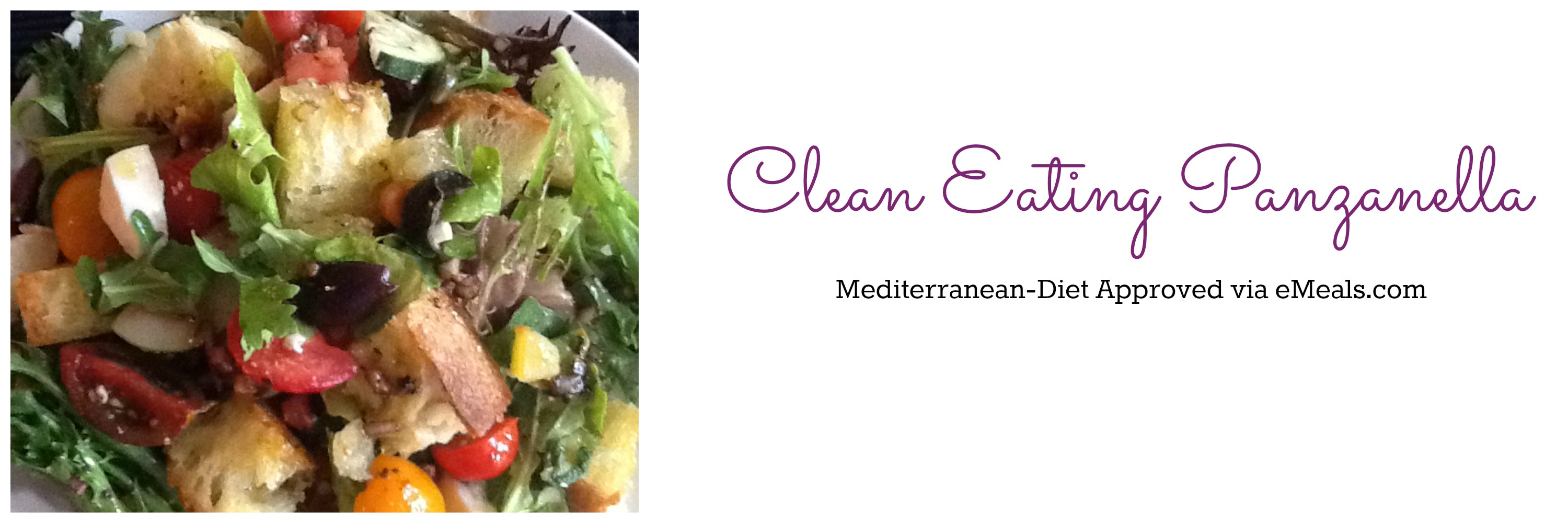 Clean Eating Mediterranean Panzanella