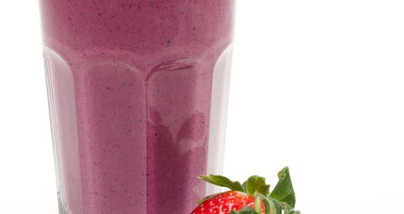 Four-Ingredient Strawberry-Yogurt Smoothies