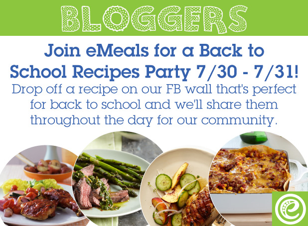 Back to School Recipe Party